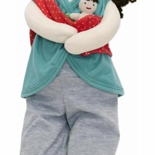 Muñeca Sexuada Amamanta Nacimiento Parto Y Cesárea Esi 45 Cm
