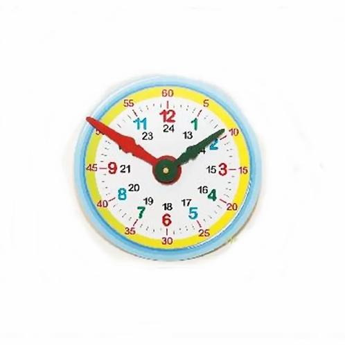 Reloj De Madera Aprende La Hora Didàctico