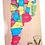 Thumbnail: Rompecabezas Mapa Argentina Madera Provincias Y Capitales