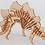Thumbnail: Maqueta Rompecabezas 3d P/armar Dinosaurio Stegosaurio