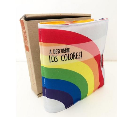 Libro mini de Tela actividades A descubrir los colores!