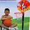 Thumbnail: Aro De Basquet Infantil Con Pie Altura Regulable