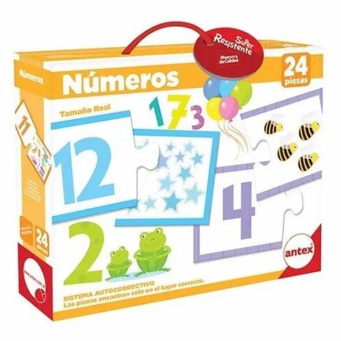 Puzzle Rompecabezas Juego De Asociaciòn Numero - Cantidad