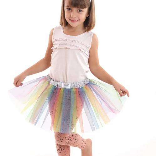 Disfraz Unicornio Niños Infantil Vincha Tutu Regulable
