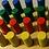 Thumbnail: Encastre Ensartado Madera Varios Modelos Didáctico Motricida