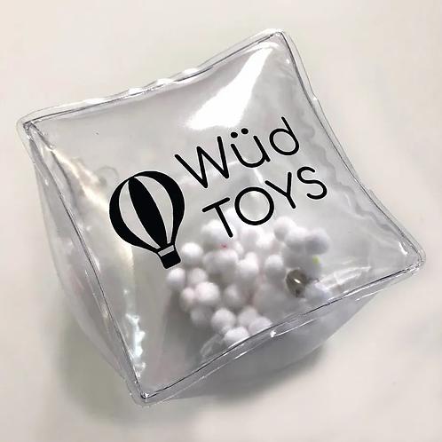 Cubo Sensorial Didáctico Sonajero Bebes Estimulac Sensorial
