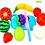 Thumbnail: Juego De 5 Frutas C/abrojo Se Cortan Motricid Fina Terapia