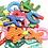 Thumbnail: Letras Imantadas + Números Madera Ideal Para Souvenir 6 Cm