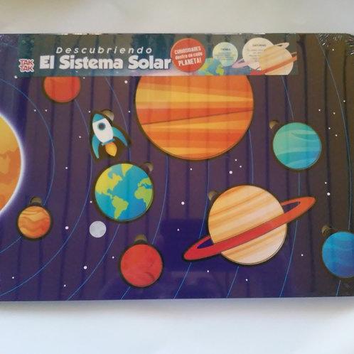 Encastre Sistema Solar Madera