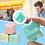 Thumbnail: Cubo Dado Anti Stress Ansiedad Nervios Fidget Toy Spinner