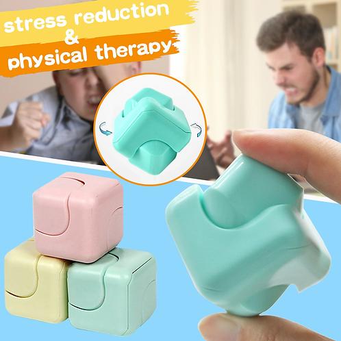 Cubo Dado Anti Stress Ansiedad Nervios Fidget Toy Spinner