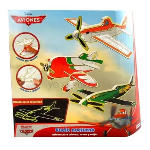 Aviones Para Armar Y Colorear Nocturnos Didácticos Motricida