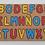 Thumbnail: Encastre Abecedario Letras En Madera Didáctico Motricidad