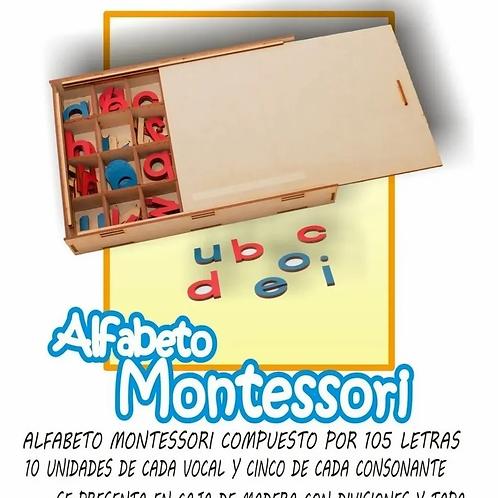 Letras Abecedario Móvil Montessori Imprenta
