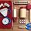 Thumbnail: Set De Doctor Infantil De Madera Juego De Dramatización