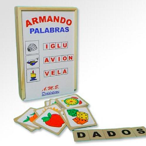 ARMANDO PALABRAS-INICIACIÓN A LA LECTOESCRITURA
