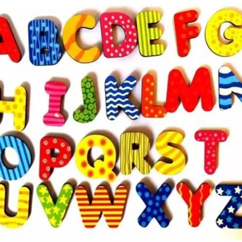 Pack Didáctico Encastres Letras Y Números Y Más!! Motricidad