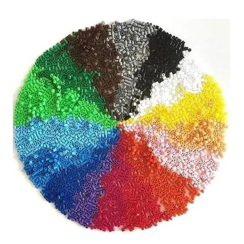 4000 Hama Beads Colores Mezcados-planchitos