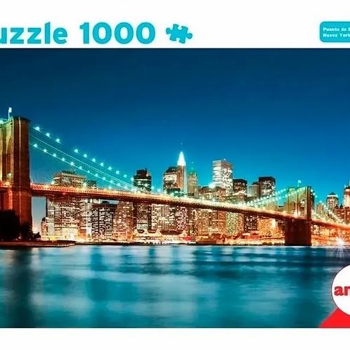 Puzzle Rompecabezas 1000 Piezas Puente De Brooklyn Ny