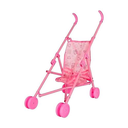 Cochecito Para Muñecas Bebes Colores Kids