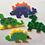 Thumbnail: Kit Siluetas Completo De Hama Beads .Canutillos+pinza