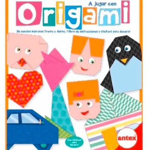 Juego De Origami Con Stickers Para Decorar