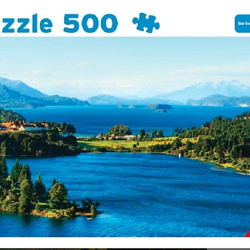Rompecabezas Puzzle 500 Piezas Bariloche Argentina