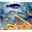 Thumbnail: Juego De Pesca Madera Didáctico Imantado Encastre