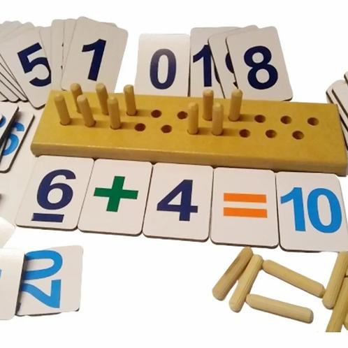 juego De Sumas Y Restas Operaciones Matemáticas Hasta El 20