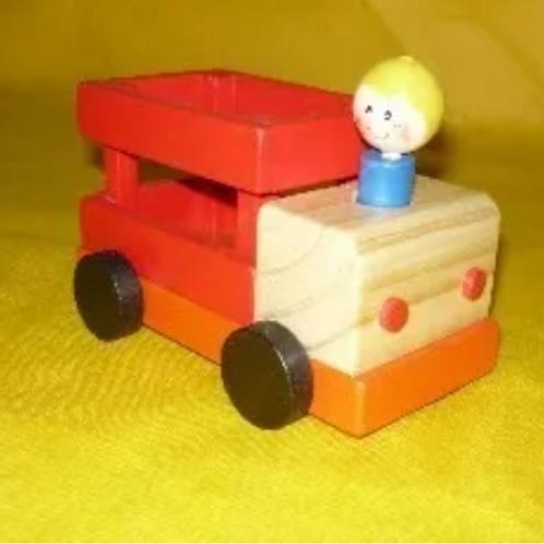 Camión Madera Didáctico Varios Modelos Waldorf Montessori