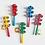 Thumbnail: Cascabelero Madera Con Platillos Instrum Musical Didáctico