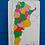 Thumbnail: Encastre Mapa Argentina Rompecabezas Madera Didáctico 43cm!