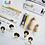 Thumbnail: Kit Muñecos P/pintar Y Decorar Stickers Heroes O Mujer Marav