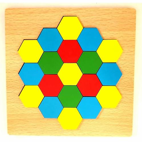 Rompecabezas Geométrico Didactico Concentraciòn Motricidad