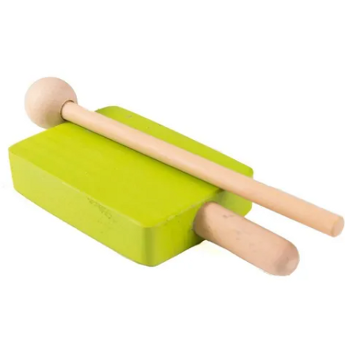 Caja China Instrumento Musical Infantil Didáctico Madera