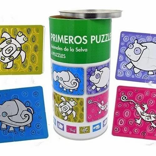Rompecabezas Primeros Puzzles 4 Piezas Animales Didàcticos