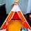 Thumbnail: Carpa Tipi India Infantil +Piso+2 almohadones- para 2 chicos