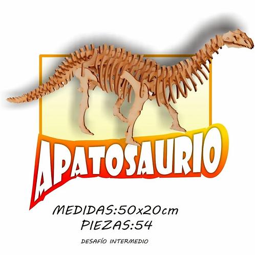 Maqueta Encastrable Dinosaurio Apatosaurio 25 Cm.