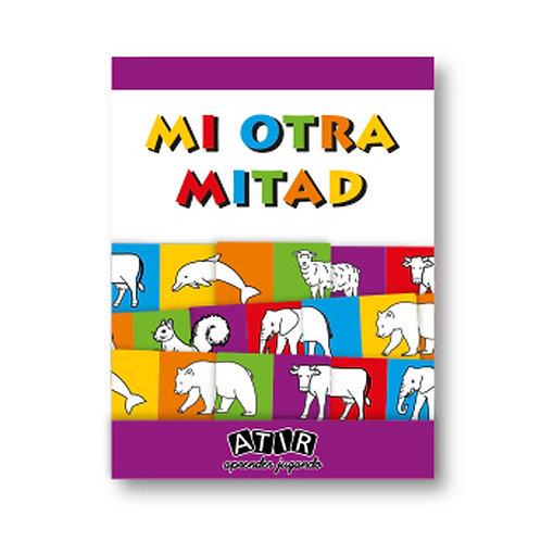 Juego De Domino Mi Otra Mitad Didáctico Asociación Atención