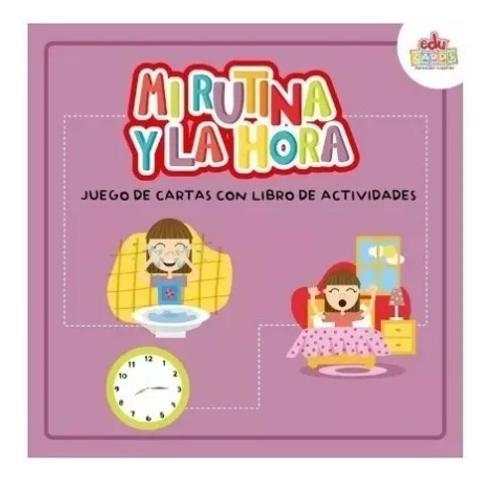 Cartas + Libro - Actividades Mi Rutina Y La Hora Pictogramas