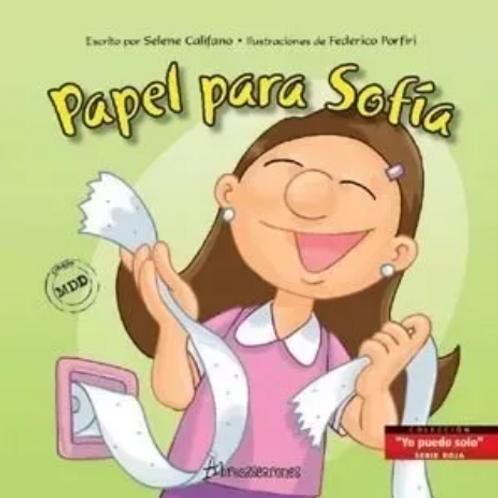 Libro Papel Para Sofía- Niños Epeciales-didáctico