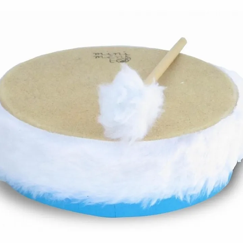 Pandero Medium Instrumento Musical Ideal Jardines Escuelas