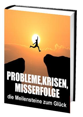 Probleme, Krisen, Misserfolge - Die Meilensteine zum Glück
