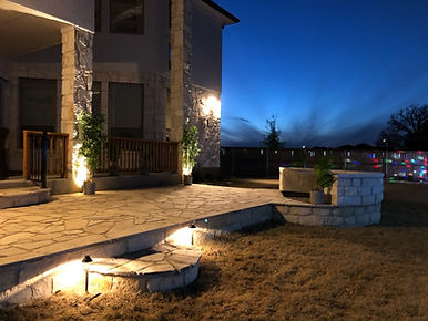 Patio Extension w/ Lighting