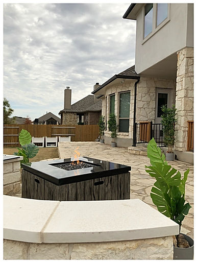 Patio, Seating Area, Fire Pit
