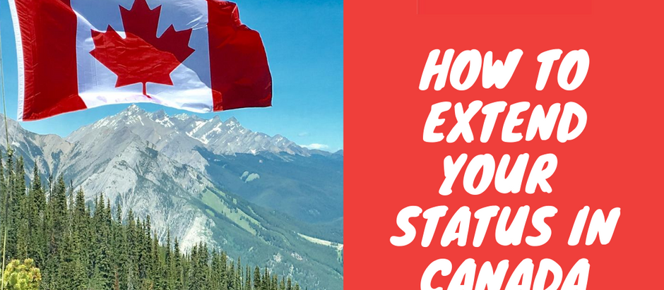 How to extend your status in Canada