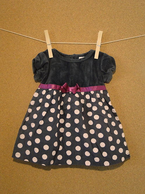 Robe Baby Club : Taille 74cm