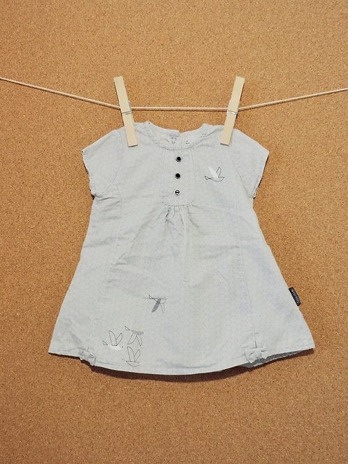 Robe Sucre d'Orge : Taille 62cm
