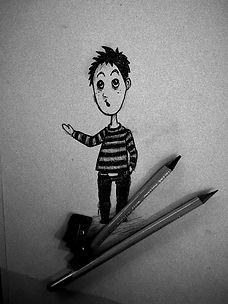 Juste un petit dessin que j'ai fait de T