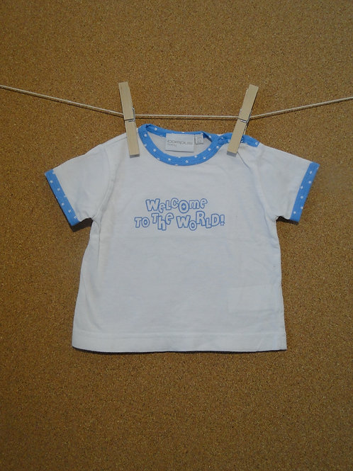 T-Shirt Campus Baby : Taille 62cm